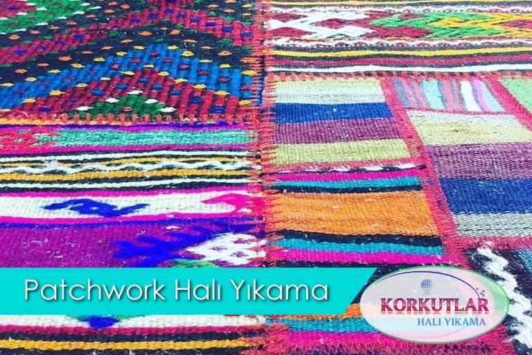 patchwork halı yıkama