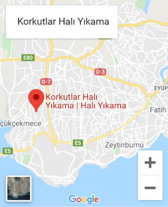 Google haritalar korkutlar halı yıkama