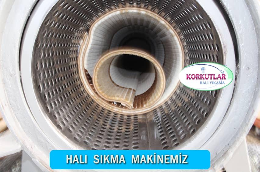 Krom halı sıkma makinesi